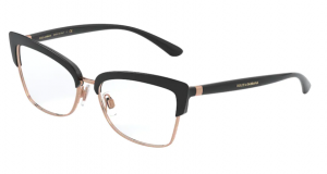Okulary DOLCE&GABBANA BLACK/PINK GOLD DG5045-501