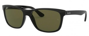 Okulary RAY BAN 4181 Black / Natural Green Polarized ORB4181-601/9A