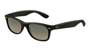Okulary RAY BAN NEW WAYFARER Matte Black / Blue Grad. Grey Polar. ORB2132-601S/78