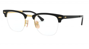 Oprawki RAY BAN CLUBMASTER METAL GOLD ON TOP BLACK ORX3716VM-2890