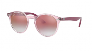 Okulary RAY BAN JUNIOR 9064S TRANSPARENT PINK ORJ9064S-7052V0