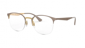 Oprawki RAY BAN 6422 GOLD ON TOP MATTE BEIGE ORX6422-3005