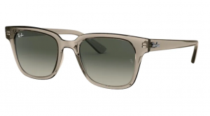 Okulary RAY BAN TRANSPARENT GREY/ GREY GRADIENT DARK GREY RB4323-644971