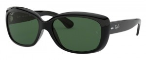 Okulary RAY BAN 4101 JACKIE OHH Black / Natural Green Polarized ORB4101-601/58