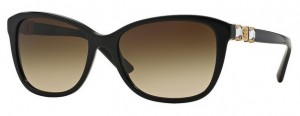Okulary Versace Black / Brown Gradient VE4293B-GB1/13