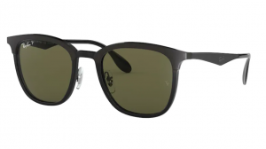 Okulary RAY BAN BLACK MATTE BLACK/ POLAR GREEN ORB4278-6289A