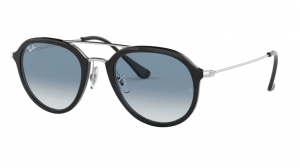 Okulary RAY BAN 4253 BLACK/ CLEAR GRADIENT BLUE ORB4253-62923F