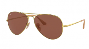 Okulary RAY BAN 3689 GOLD/ POLARIZED PURPLE  ORB3689-9064AF