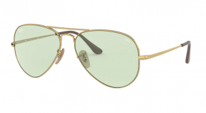 Okulary RAY BAN 3689 GOLD/LIGHT GREEN ORB3689-001/T1