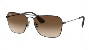Okulary RAY BAN MATTE BLACK ANTIQUE/BROWN GRADIENT ORB3610-913913