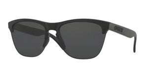 Okulary OAKLEY FROGSKIN LITE Matte Black / Grey oo9374-01