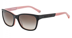 Okulary Emporio Armani 4004 Black/ Opal Pink Brown Gradient EA4004-504613