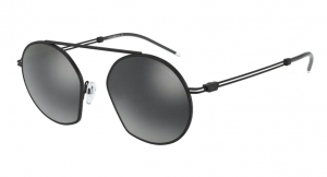 Okulary Emporio Armani 2078  Matte Black / Ligh Grey Mirror Black EA2078- 30016G