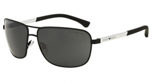 Okulary Emporio Armani 2033 Black Rubber / Grey EA2033- 309487