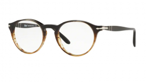 Oprawy korekcyjne PERSOL GRAD BLACK  STRIPED BROWN PO3092V-9052