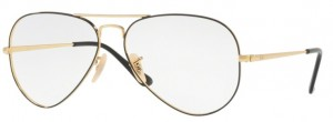 Oprawki RAY-BAN 6489 Gold on Top Black ORX6489-2946