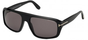 Okulary Tom Ford Black / Smoke  FT0754-01A