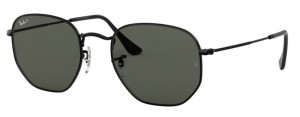Okulary RAY BAN 3548N Black / Polarized Green ORB3548N-002/58