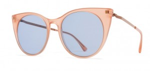 Okulary MYKITA DESNA C46 Rhubarb Sorbet / Shiny Copper / Sky Blue Solid C986