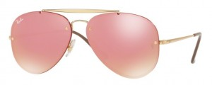 Okulary RAY BAN 3584N Gold / Mirror Pink  ORB3584N-9052E4