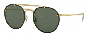 Okulary RAY BAN 3614N Demi Gloss Gold / Dark Green ORB3614N-914071