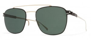 Okulary MYKITA HUGH Champagne Gold / Ebony Brown / MY+ Neophan Polarised C290
