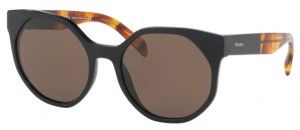 Okulary PRADA Black / Brown PR11TS-1AB8C1