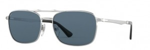 Okulary PERSOL Silver / Light Blue PO2454S-518/56