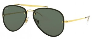 Okulary RAY BAN 3584N Gold / Dark Green ORB3584N-905071