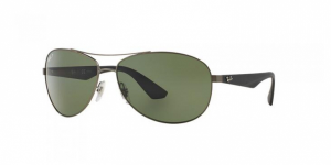 3526 / Matte Gunmetal / Polarized Dark Green / ORB3526-029/9A