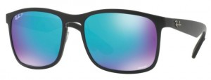 Okulary RAY BAN 4264 Matte Black / Blue Flash Polarized ORB4264-601SA1
