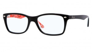Oprawki RAY BAN 5228 Black/Red Texture ORX5228-2479