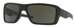 Okulary OAKLEY DOUBLE EDGE Matte Black / Dark Grey oo9380-01