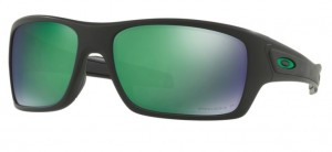 Okulary OAKLEY TURBINE Matte Black / Prizm Jade Polarized oo9263-45