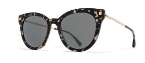Okulary MYKITA ANIK Antigua Champagne Gold / Mirror Black C942