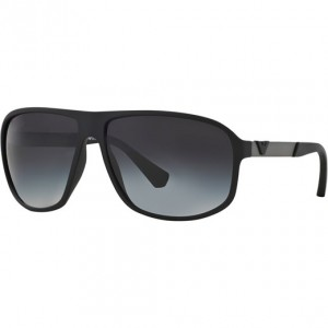 Okulary Emporio Armani 4029 Black Rubber / Grey Gredient 4029-50638G