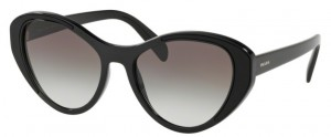 Okulary PRADA Black / Grey Gradient PR14US-1AB0A7
