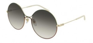 Okulary Gucci Gold / Grey Gradient GG0395S-003