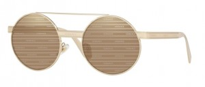 Okulary Versace Pale Gold / Brown Tamp Versace Silver Gold VE2210-1252V3