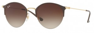 Okulary RAY BAN 3578 Gold Top Brown / Brown Gradient ORB3578-900913