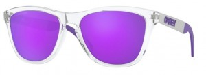 Okulary OAKLEY FROGSKIN MIX Polished Clear / Violet Iridium Polarized 9428-06