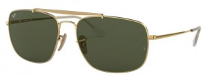 Okulary RAY BAN 3560 Gold / Green ORB3560-001
