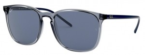 Okulary RAY BAN 4387 Transparent Blue / Blue ORB4387-639980