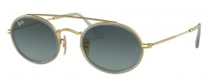Okulary RAY BAN 3847N Gold / Blue Gradient Grey ORB3847N-91233M