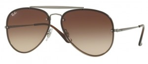Okulary RAY BAN Gunmetal / Brown Gradient Brown ORB3584N-004/13