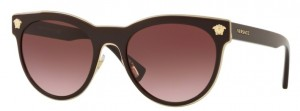 Okulary Versace Burgundy / Pink Gradient Dark Violet VE2198-12528H