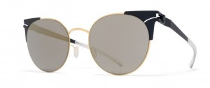 Okulary MYKITA LULU Gold Indigo / Brilliantblue Solid C256