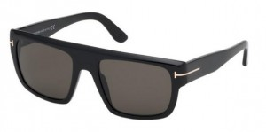 Okulary Tom Ford Black / Smoke  FT0709-01A