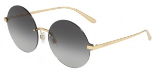 Okulary DOLCE & GABBANA 2228 Gold / Grey Gradient DG2228-02/8G
