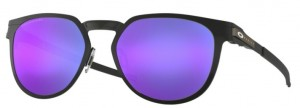 Okulary OAKLEY DIECUTTER Satin Black / Violet Iridium Polarized  oo4137-06